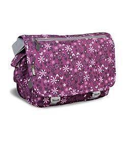 J World® Terry Garden Purple Messenger Bag