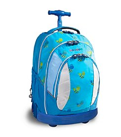 J World® Sweet Bees Rolling Backpack