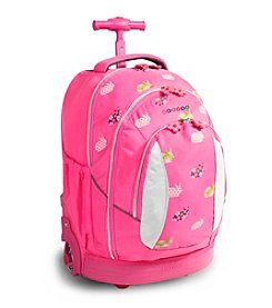 J World® Sweet Rabbit Rolling Backpack