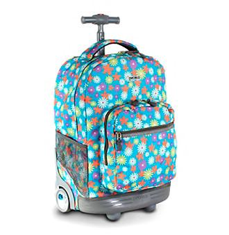 J World® Sunrise Spring Rolling Backpack
