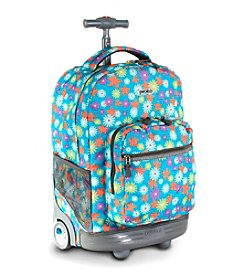 J World®  Sunrise Spring Rolling Backpack
