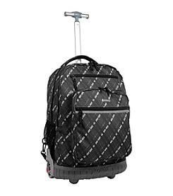 J World® Sundance Preppy Laptop Rolling Backpack