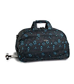 J World® Christy Blinker Rolling Duffel Bag