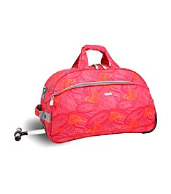 J World® Christy Paisley Rolling Duffel Bag