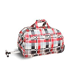 J World® Christy Star Rolling Duffel Bag