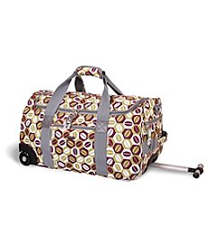 J World® Tamarak Coffee Rolling Duffel Bag
