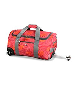 J World® Tamarak Paisley Rolling Duffel Bag