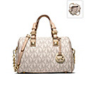 Michael Kors Grayson Logo Medium Satchel