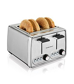 Hamilton Beach® 4-Slice Modern Chrome Toaster