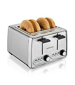 Hamilton Beach® 4-Slice Modern Chrome Toaster