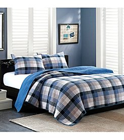INK+IVY Maddox Coverlet Set
