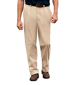 Harbor Bay® Men's Big & Tall Continuous Comfort Stretch Chino Pant