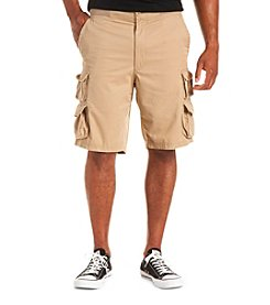 True Nation™ Men's Big & Tall Ribbed-Waist Cargo Short