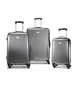 Samsonite® Winfield™ Fashion Black and Silver Check Luggage Collection