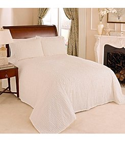 Channel Chenille Bedspready by Beatrice Home Fashions