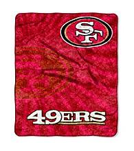 San Francisco 49ers Sherpa Throw
