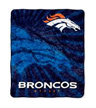 Denver Broncos Sherpa Throw