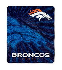 Denver Broncos Sherpa Throw