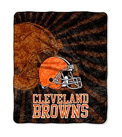 Cleveland Browns Sherpa Throw