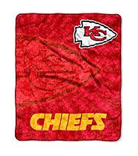 Kansas City Chiefs Sherpa Throw
