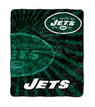 New York Jets Sherpa Throw