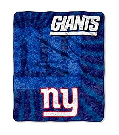 New York Giants Sherpa Throw
