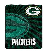 Green Bay Packers Sherpa Throw