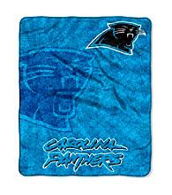 Carolina Panthers Sherpa Throw