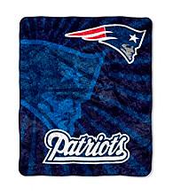 New England Patriots Sherpa Throw