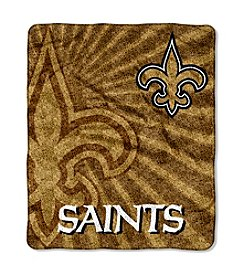 NFL® New Orleans Saints Sherpa Throw