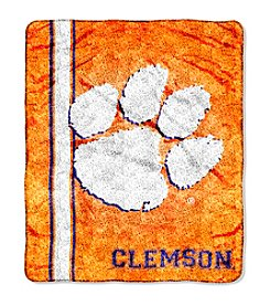 NCAA® Clemson University Sherpa Throw