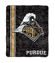 Purdue University Sherpa Throw