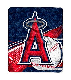 Los Angeles Angels Sherpa Throw