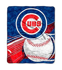 Chicago Cubs Sherpa Throw