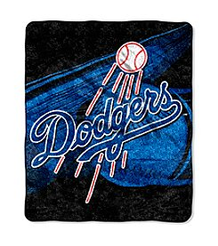 Los Angeles Dodgers Sherpa Throw