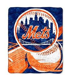 New York Mets Sherpa Throw
