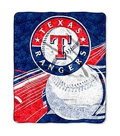 Texas Rangers Sherpa Throw