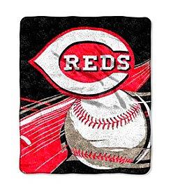 Cincinnati Reds Sherpa Throw
