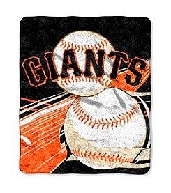 San Francisco Giants Sherpa Throw