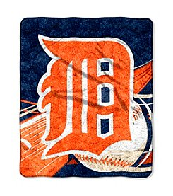 Detroit Tigers Sherpa Throw