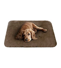 Soft Touch Brown and Ivory Trufted Crate Mat