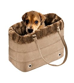 Friends Forever Tan Fur Carrier