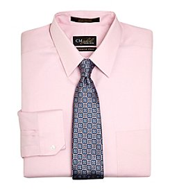 Gold Series® Men's Big & Tall Oxford Pink Long Sleeve Dress Shirt