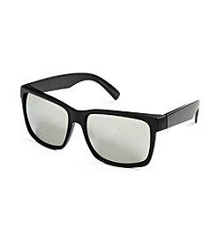 True Nation™ Men's Big & Tall Black Matte Vintage Sunglasses