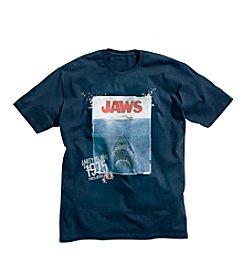 True Nation™ Men's Big & Tall True Navy JAWS Graphic Tee