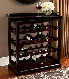 Powell® Davenport Open Wine Cabinet