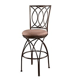 Powell® Big and Tall Metal Crossed Legs Bar Stool