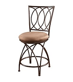 Powell® Big and Tall Metal Crossed Legs Counter Stool