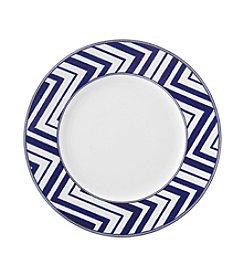 Mikasa® Cadence Cobalt Zig Zag Salad Plate