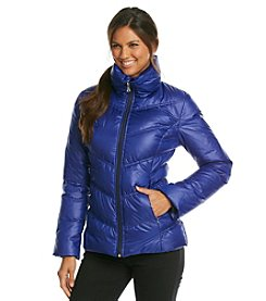 GUESS Chevron Quilted Down Jacket